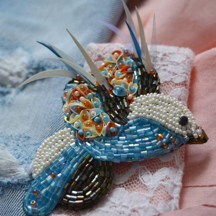 29 отметок «Нравится», 1 комментариев — Наталья Якубовская (@yakubovskaya_nataliya) в Instagram: «#брошьназаказ#ручнаяработа#бисернаяброшь#птичка#handmade_ru_jewellery#подарок#»