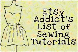 Sewing Tutorials- great stuff here! Repinned by RainyDayEmbrdry www.etsy.com/shop/RainyDayEmbroidery