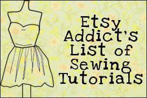 Sewing Tutorials- great stuff here!