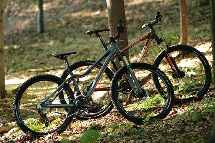 #Giant Talon 27.5 and Tempt 27.5 - 2014