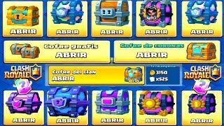 ¡¡ ABRIENDO TODOS LOS COFRES DE CLASH ROYALE !! | ABRIENDO 2 COFRES DE MAGO ELÉCTRICO - Clash Royale - YouTube
