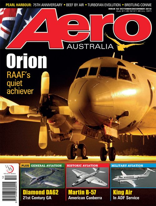 After half a century, RAAF operation of the Lockheed P-3 Orion will soon be winding down as the P-8A Poiseidon starts to come on line. We look at the Orion's long and successful time in Australian service. Issue 52 (Oct-Dec 2016) on sale 22 September 2016.