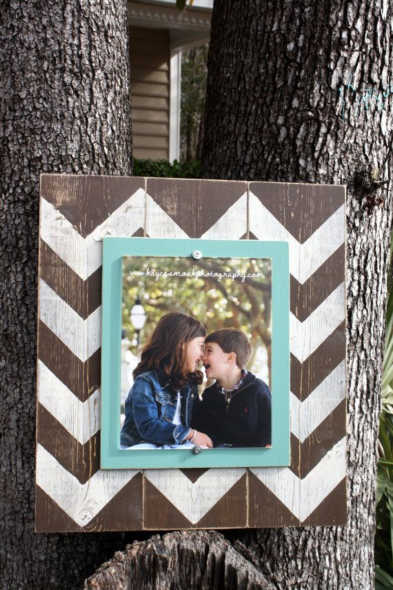 Hey, I found this really awesome Etsy listing at https://www.etsy.com/listing/175416170/chevron-picture-frame-wood-8x10-frame