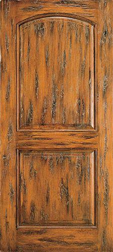 AAW Doors Rustic Interior Door Style 2