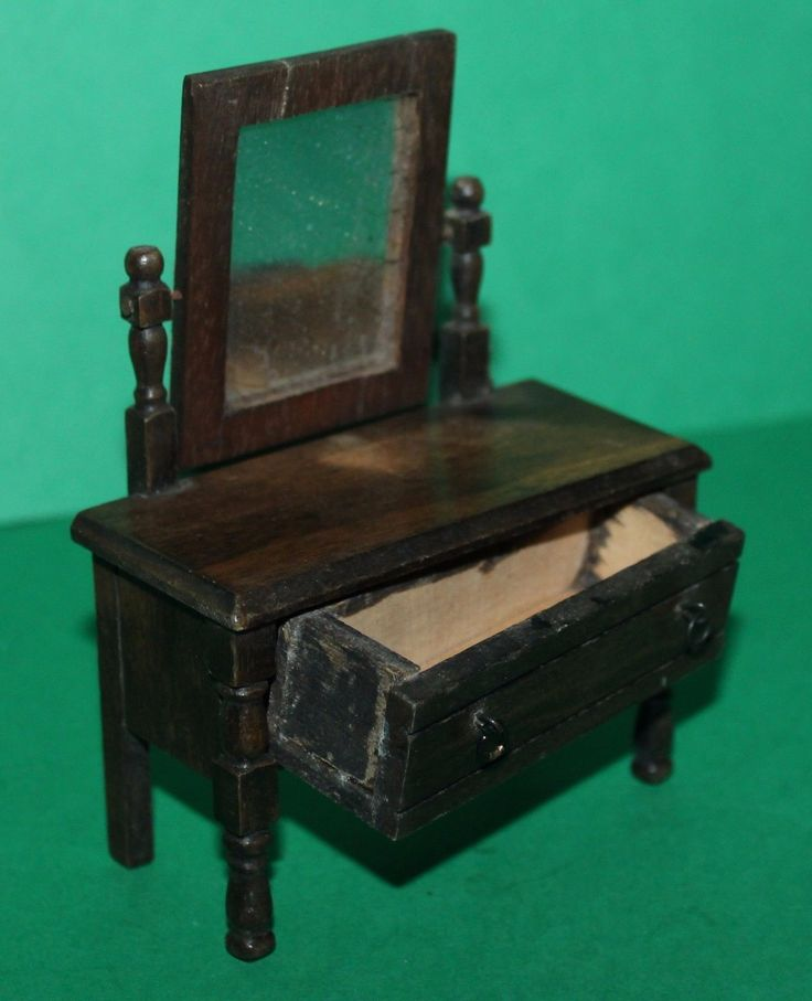 Vintage Dolls House Triang Period Furniture Dressing Table