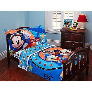 Mickey Mouse Clubhouse Toddler Bedding - Caiden is obsessed with Mickey Mouse!