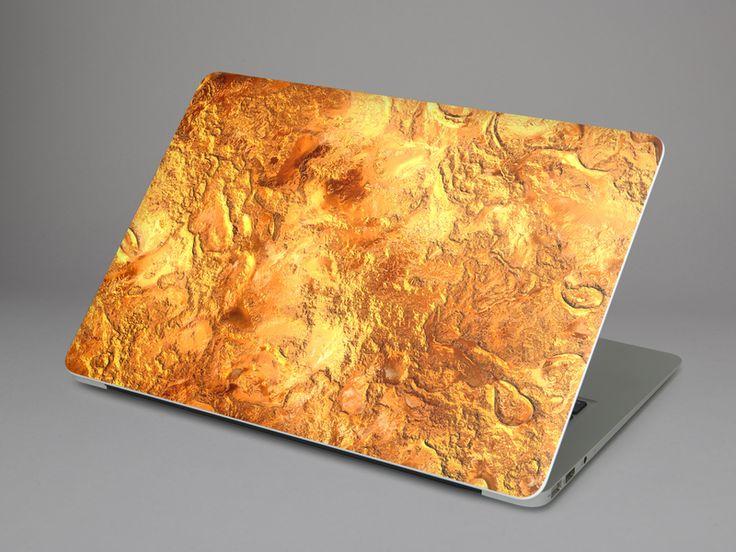Laptop Aufkleber selbst gestalten: Designfolie Kupferglanz für dein Apple MacBook Air 13