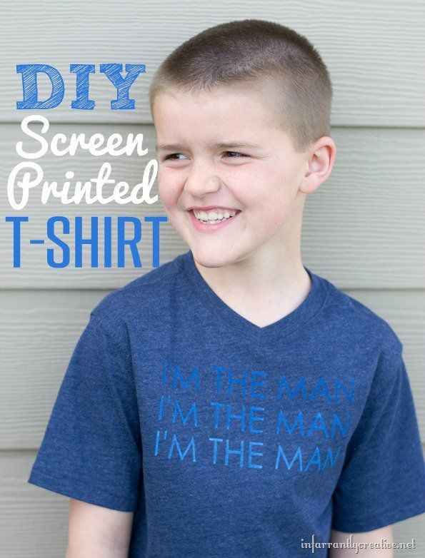 9463 best images about diy craft inspiration on for Make your own screen print shirt