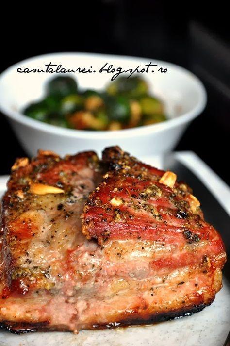 Piept de porc crocant la cuptor, un fel de mancare de zile mari si totusi atat de gustos si de simplu de pregatit