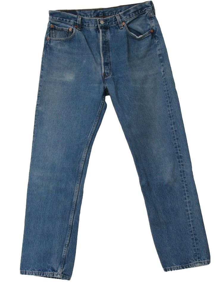 Blue jeans stick with a classic and please don't put holes in your jeans unless they get there from actually work related wear  Fake Holes = poser wannabe Men's Levi 501s. Don't make other clothes out of them either
