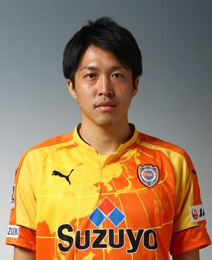 MF 6番 杉山 浩太。清水エスパルスの選手一覧