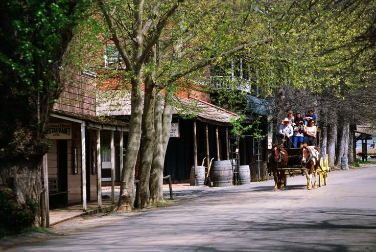 Columbia State Historic Park, Columbia: Step back into the 1850s to sip sarsaparilla, ride on a stagecoach and pan for gold in this well-preserved Gold Rush-era town.
