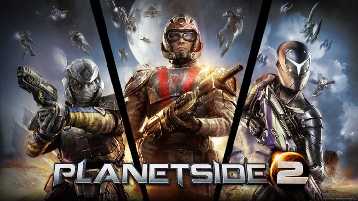 Planetside 2 jako jedna z najfajniejszych gier MMO w sieci. // Planetside 2 as a one of the best MMO games