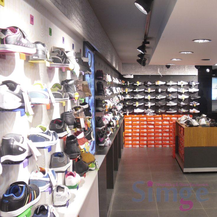 Ayakkabı Mağazası Dekorasyonu 07