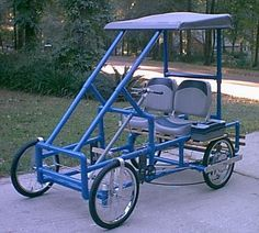 pvc pipe pedal car