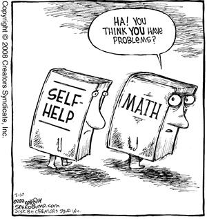 Math....we've got problems!