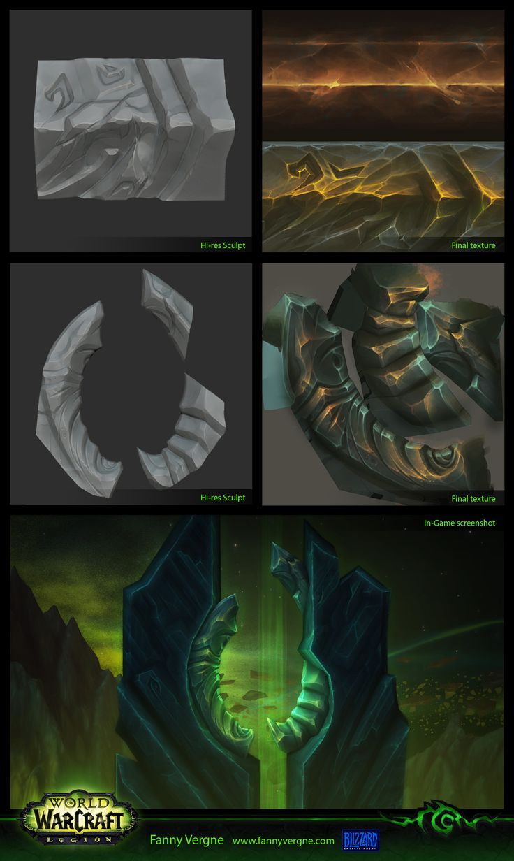 ArtStation - Tomb of Sargeras and Legion buildings - World of Warcraft, Fanny…