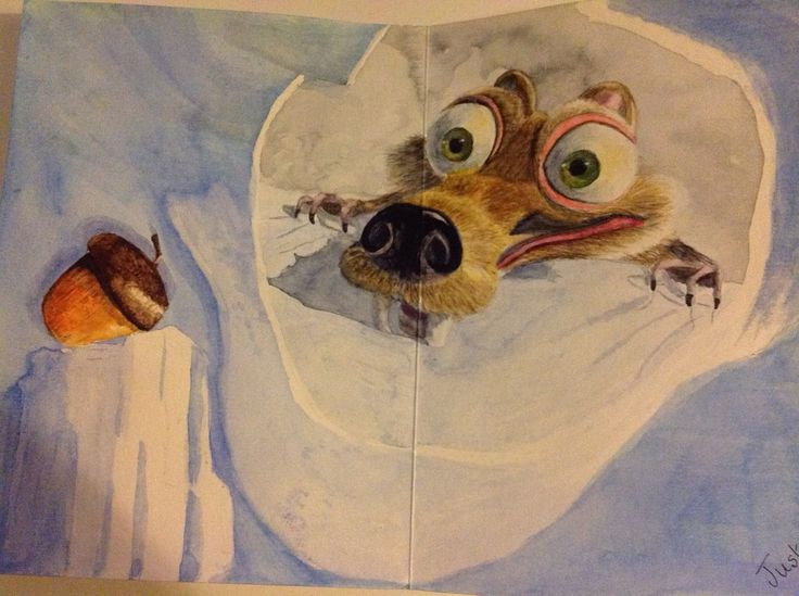 Birthday card inside - just for fun (Ice Age), by Gayner Vlastou