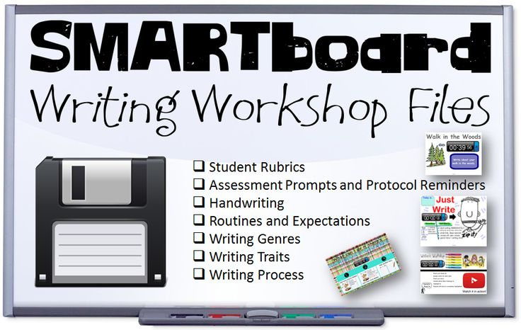 SmartBoard Activities for Writing!
