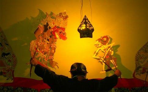 Shadow play java indo art