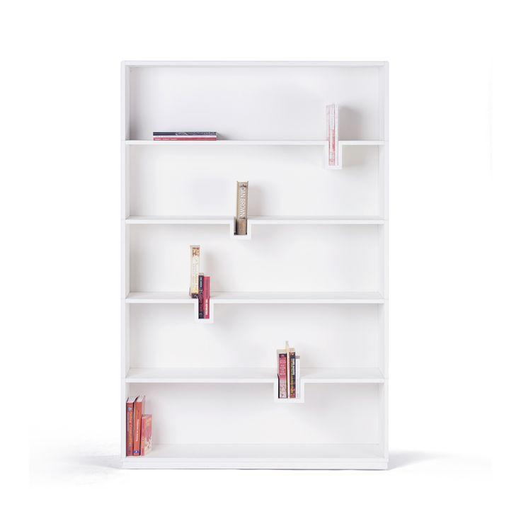 Bib Bookcase: books as a book support