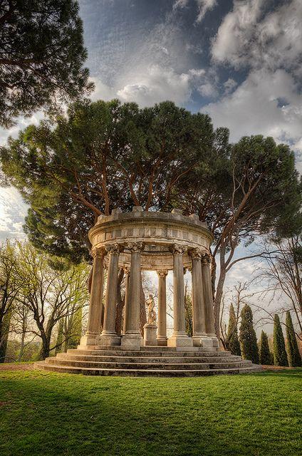 una maravilla desconocida en #madrid: jardín el capricho