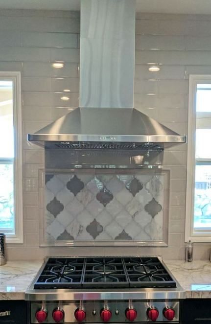 Kitchen Tile Mosaic Backsplash Moroccan Stencil 23 Ideas