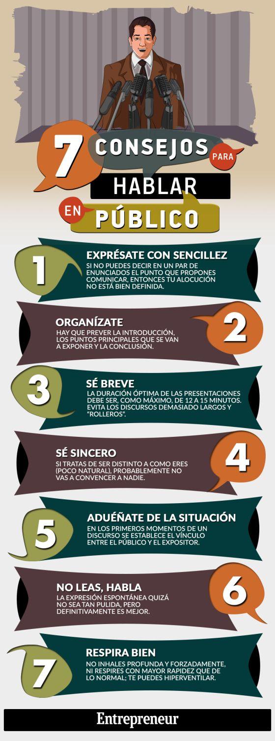 7 consejos para Hablar en Público