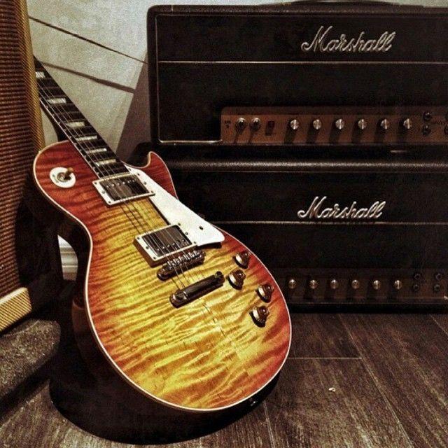 Gibson Les Paul & Marshall
