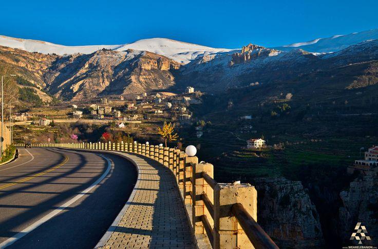 Good morning form #Bcharre  صباح الخير من بشري  By Ibrahim Anouti #Lebanon #WeAreLebanon
