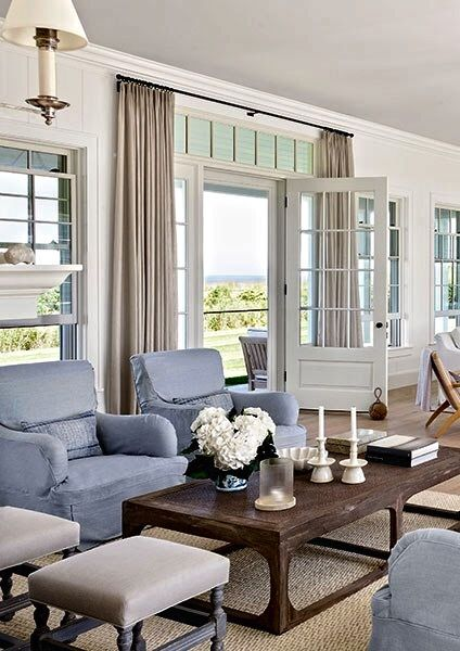 17 best ideas about door window covering on pinterest for Hamptons style window treatments