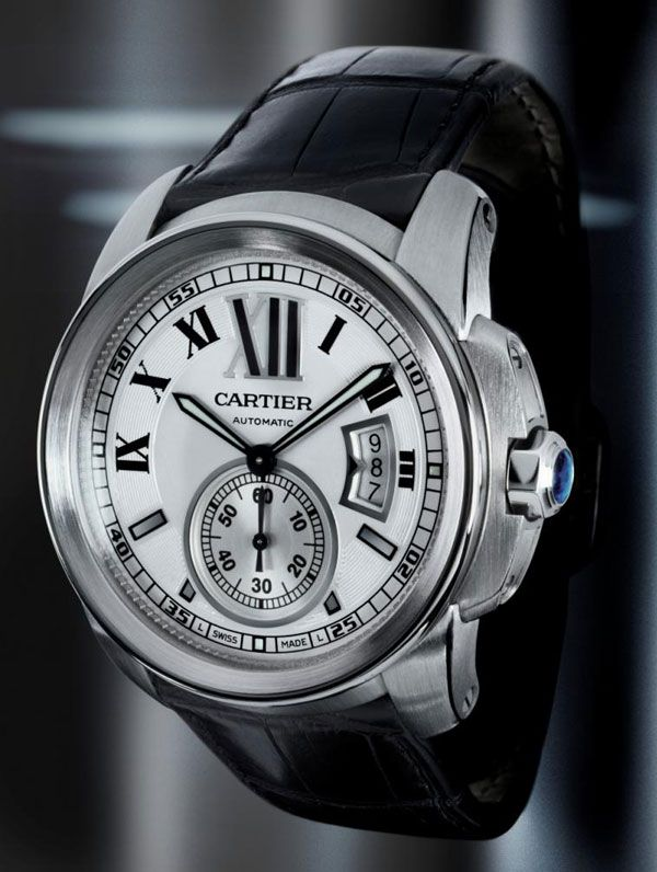 #Cartier. One of the originators of horological excellence, sadly not mentioned among the likes of Rolex, Audemars, Patek, and the like anymore.   The Calibre is an interesting timepiece, with a certain flair to it.