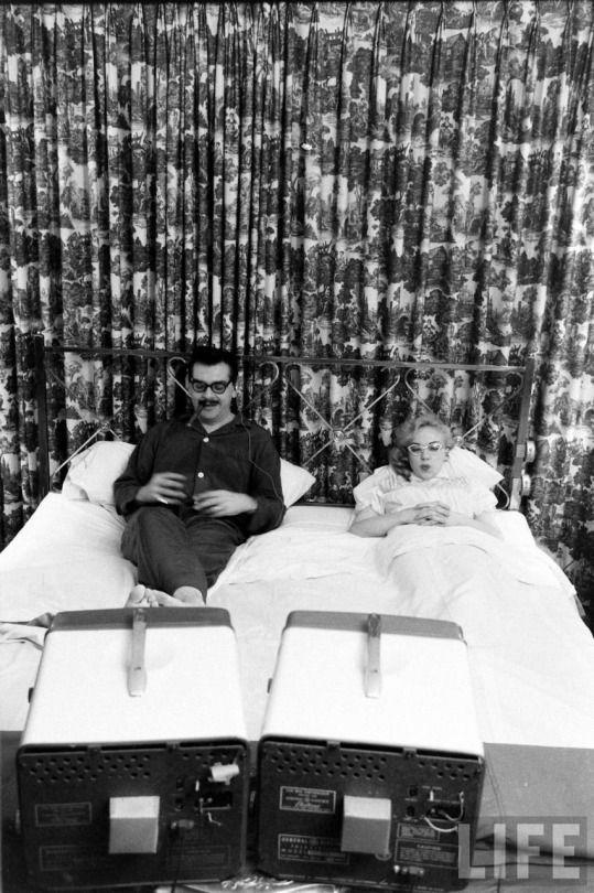 Ernie Kovacs and Edie Adams  (Ralph Morse. 1957)