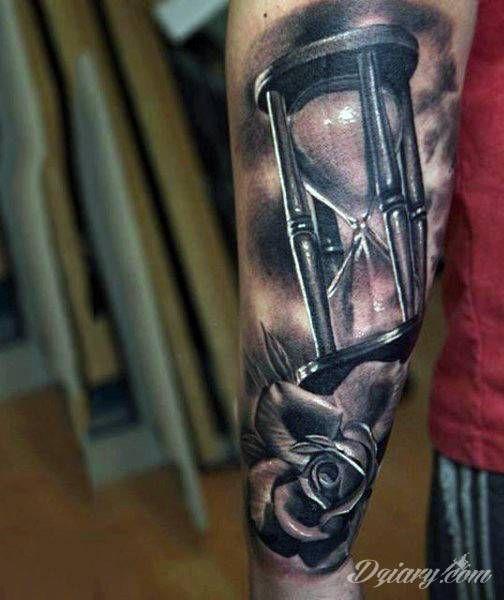 Zobacz Tatuaż Tatuaże Klepsydra Klepsydra Wzory