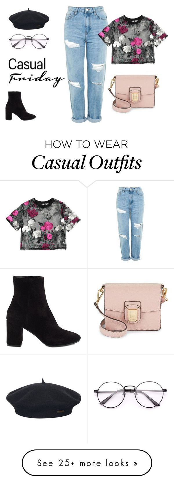 """Embroidery is my love"" by alisa-velic on Polyvore featuring Topshop, Balenciaga, Sam Edelman and Element"