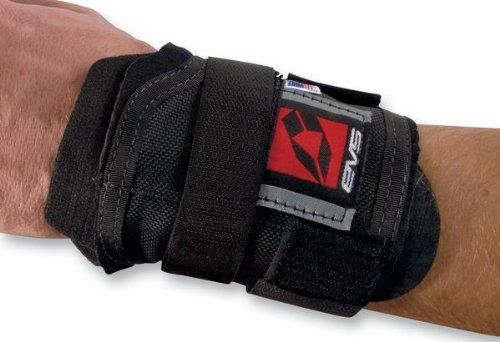 EVS WB01 Wrist Brace Black One Size Fits All OSFA WB01 by EVS. Save 7 Off!. $22.35. Maximum support and brace for wrist2 interactive density plates for added supportFull range of motionUse for right or left
