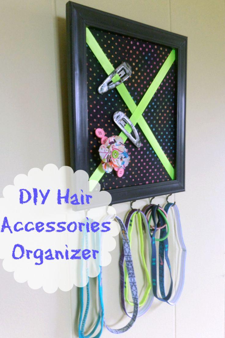 Best 25 DIY hair accessories organizer ideas on Pinterest
