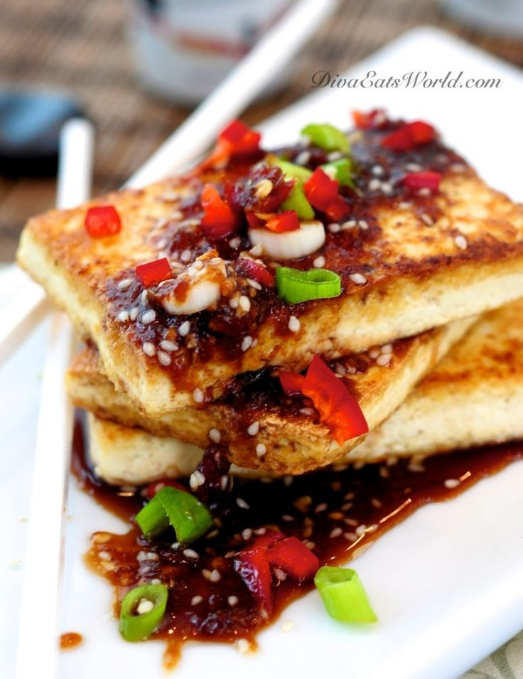 sauce more ginger tofu chili sauce fried tofu ginger sauce sauce diva ...