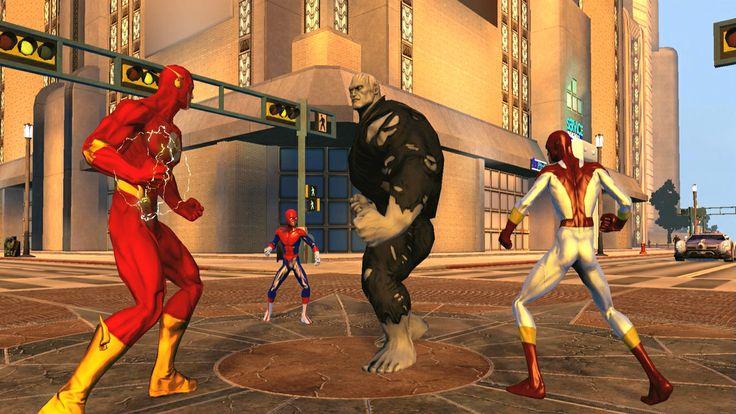 Superhero Games Online