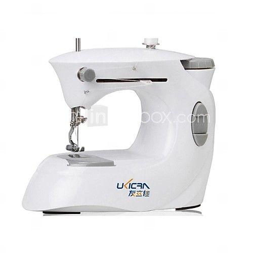 bærbare mini symaskine med fodpedalen (4xAA) 2017 - £24.63