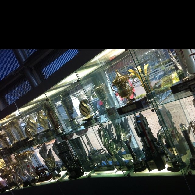 Red Bull trophy cabinet