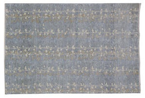 8x10 martha stewart tendrils rug denim home decor for Martha stewart rugs home decorators