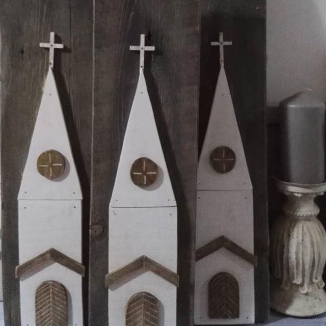 Templom a műhelyből #churches #wooden #lovelydetails #mylove #fehérlevendulaműhely #only3