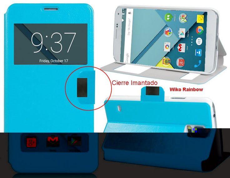 Funda Tipo Libro Con Doble Ventana Para Wiko Rainbow - Con la Funda Tipo Libro Con Doble Ventana Para Wiko Rainbowtendrás una protección total del tu teléfono móvil, ya que protege tanto delante como la parte de atrás de esta forma tendrás protección 100% del dispositivo. Diseñada exclusivamente para Wiko Rainbow, encajandoperfectamente además de i... - http://buscacomercio.es/producto/funda-tipo-libro-con-doble-ventana-para-wiko-rainbow/