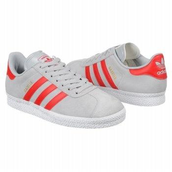 adidas gazelle grey red