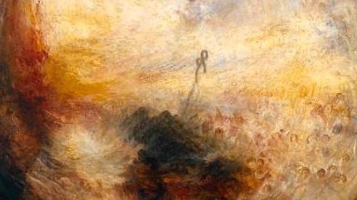 Carl Orff - O Fortuna ~ Carmina Burana  This is a quite inspirational collage between classic music and paintings by William Turner.  Through this attempt, both of them bring each other to life in terms of the integration between heterogeneous senses.