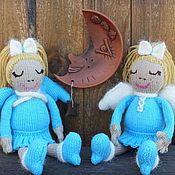 Ангел-хранитель снов. Кукла вязаная. Ищет уютный дом.