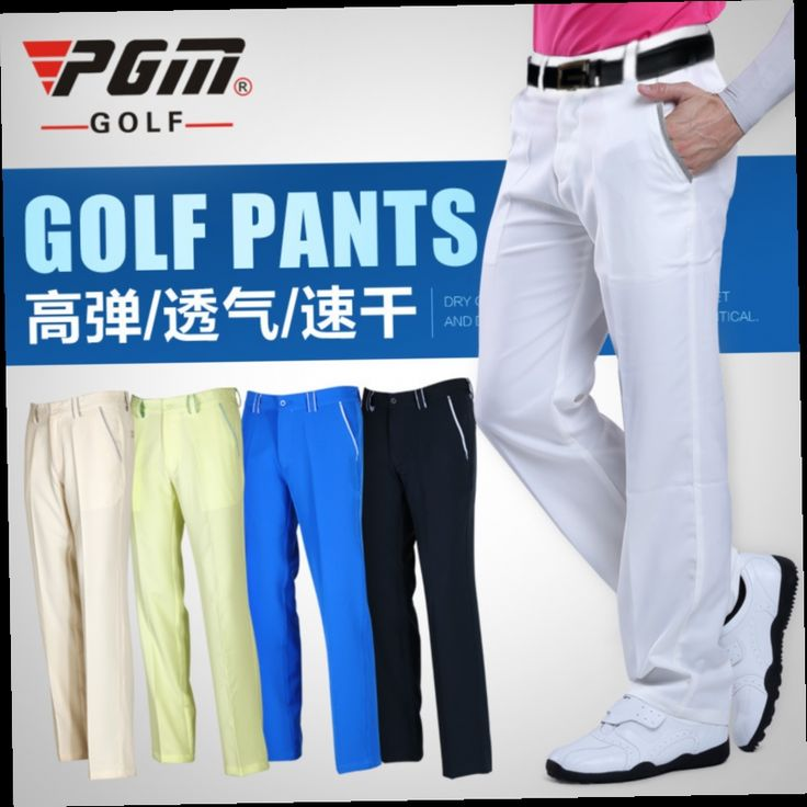 50.00$  Watch here - http://ali53u.worldwells.pw/go.php?t=32606708761 - PGM Quality Spring summer male pants titleis mens pantalon blue GOLF homme apparel trousers Shorts clothing Ventilation man Real