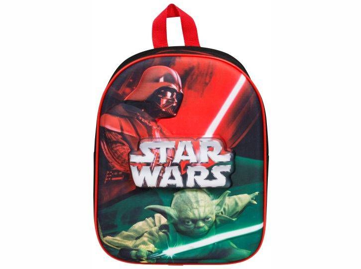 Star Wars 3D Rugzak - Darth Vader & Yoda #starwars #darthvader #masteryoda #kinderrugzak #kinderrugtas #3Drugzak
