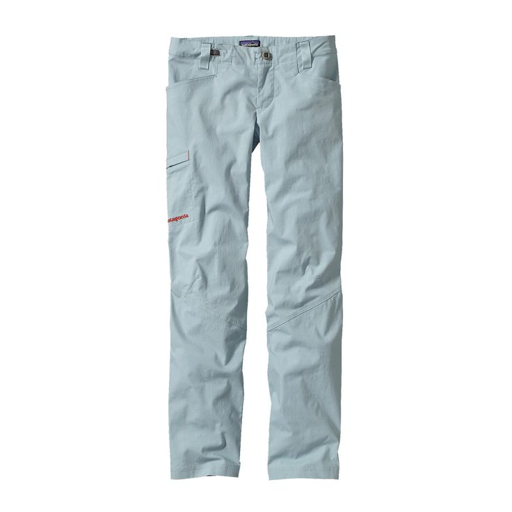 The Patagonia Women's Venga Rock Pants are built from lightweight organic cotton with just enough stretch to be your go-to climbing pants for the crag.